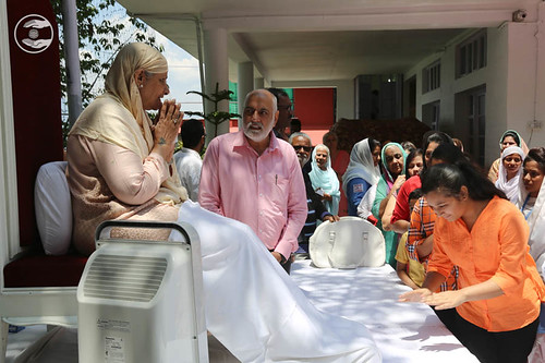 Devotees seeking blessings: June 12
