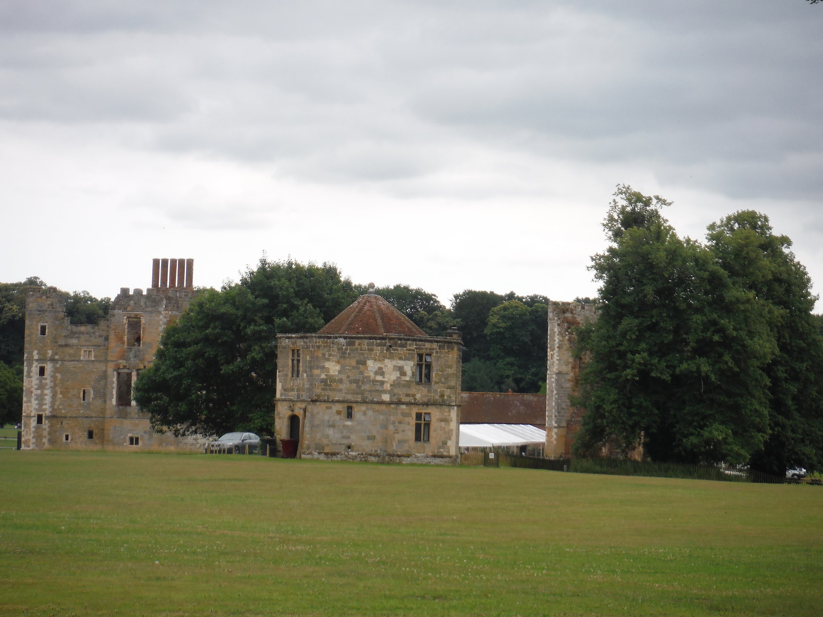 Cowdray Ruins, Midhurst SWC Walk 218 Haslemere to Midhurst (The Midhurst Way)
