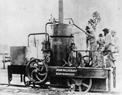 Walkers_First steam locomotive built in Qld