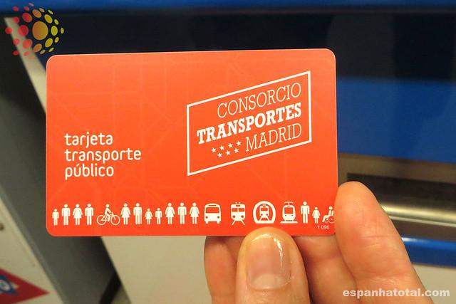 as passagens do metrô de Madri