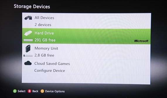 Microsoft Xbox 360 320GB Media Hard Drive 3665