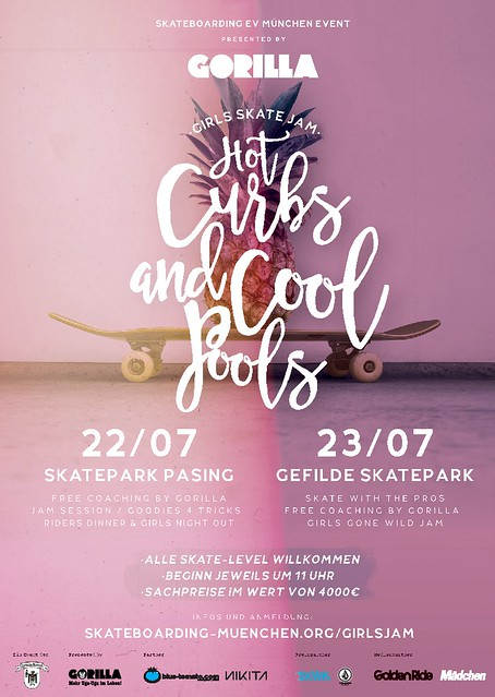 Hot Curbs & Cool Pools Girls Jam in München