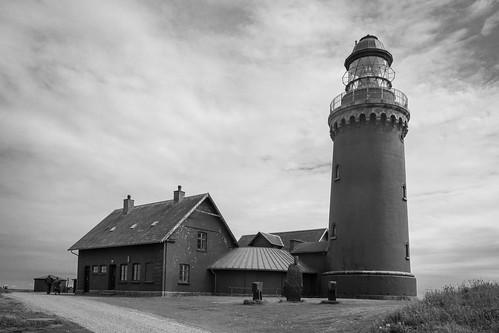 lighthouse danmark himmel denmark clouds ferring nordjylland leuchtturm bovbjerg germany bw jylland sw schwarzweis nordjütland sky fyr dänemark blackandwhite jütland wolken