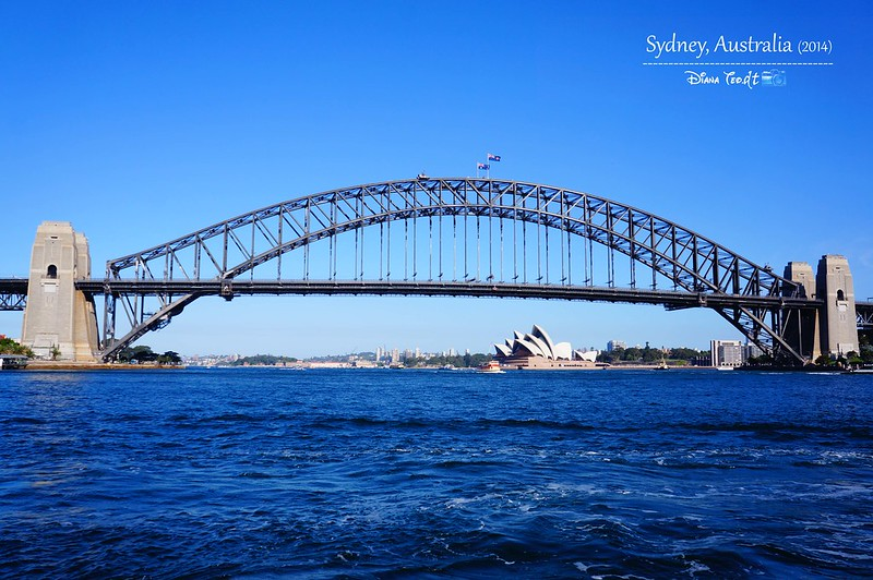 Day 1 - Sydney Harbour Bridge Day Time 01