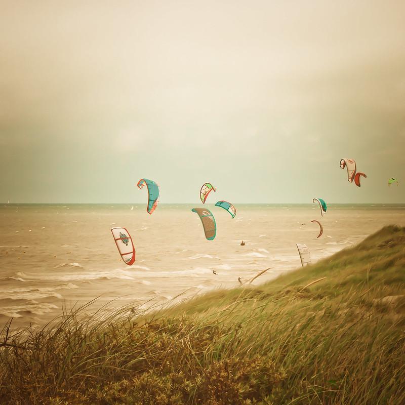 Kitesurf miniature