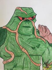 Art Shenanigans: Swamp Thing