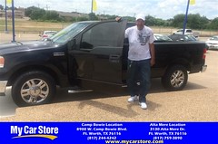 Happy Anniversary to Adophie on your #Ford #F-150 from Josh Pedroza at My Car Store!