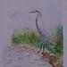 Heron Water Colour 1