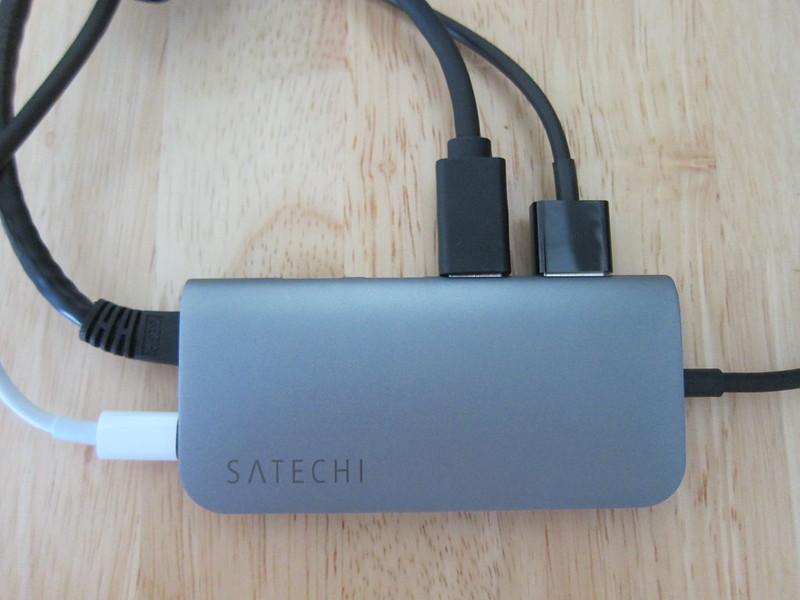 Satechi Aluminum USB-C Multi-Port Adapter - Plugged-In