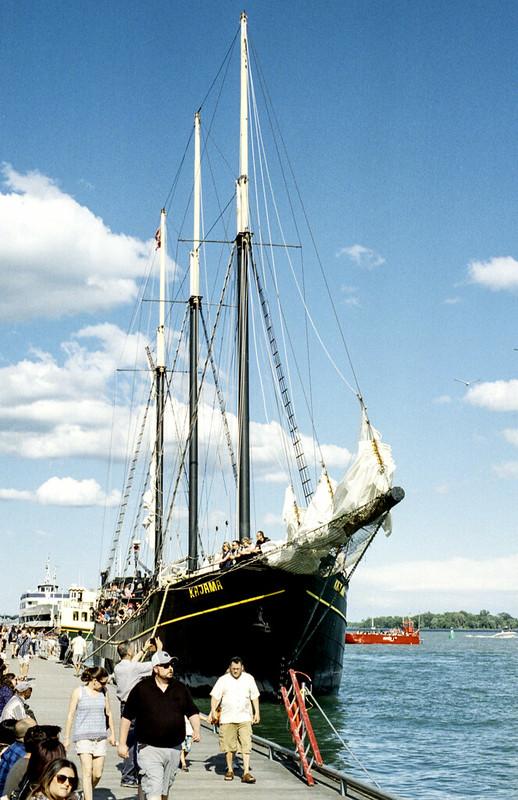Tall Ship Docked