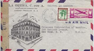 Dominican Republic La Opera to Celanese 1944 (2)