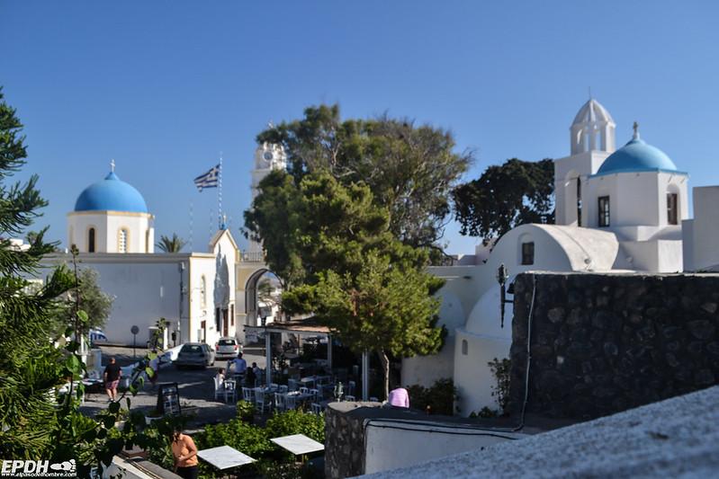 Plaza de Megalochori