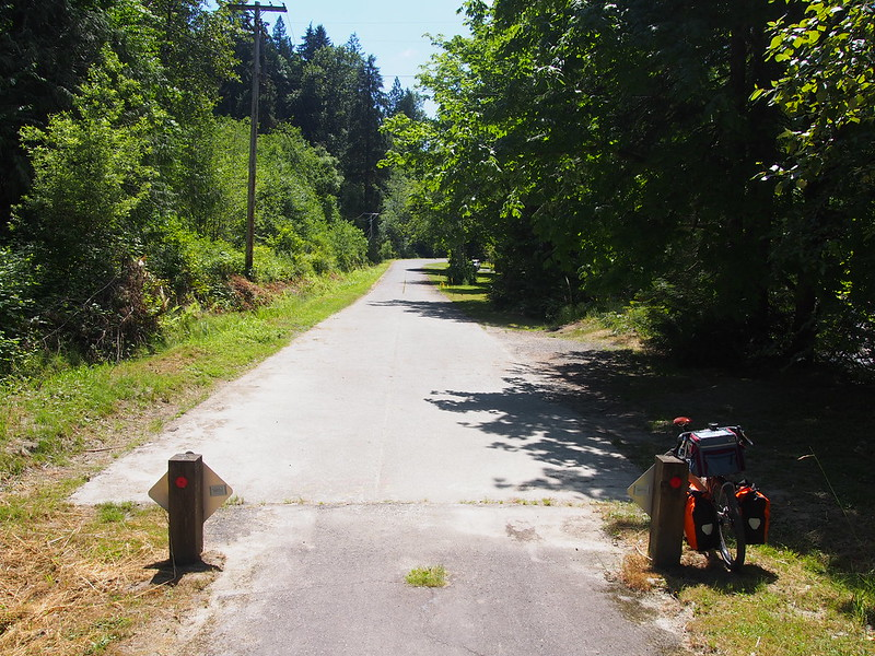 Old Highway: Currently used by local residents and trail traffic.