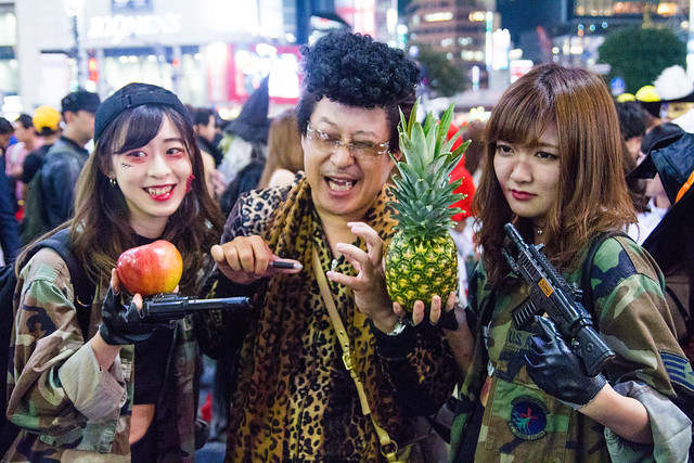 Shibuya Halloween 2016 (October 31)