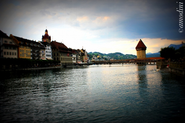 Kapellbrucke, Lucerne