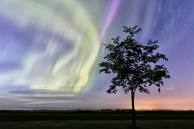 A Midsummer Night's Aurora