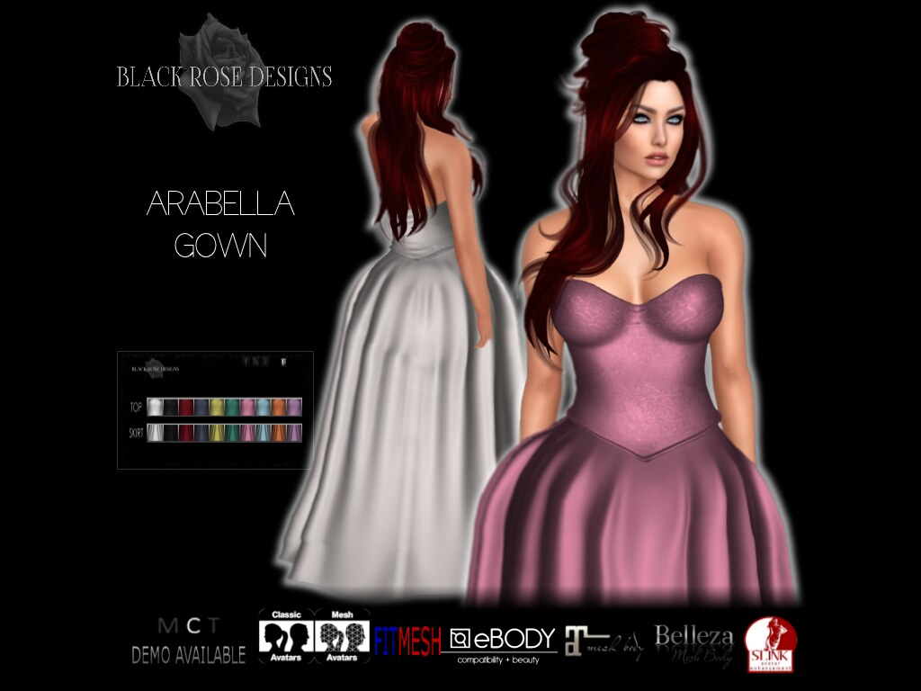 [[BR]] ARABELLA GOWN - SecondLifeHub.com