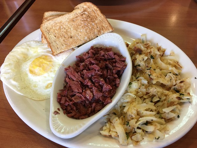 Corned beef and hash - Rick's Cafe