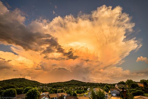 onalaska wisconsin unitedstates us clouds storm sunset golden