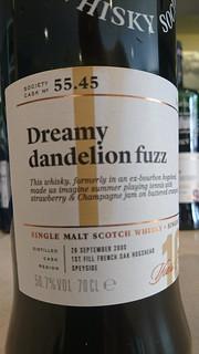 SMWS 55.45 - Dreamy dandelion fuzz