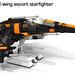 Poe's E-wing escort starfighter by CK-MCMLXXXI