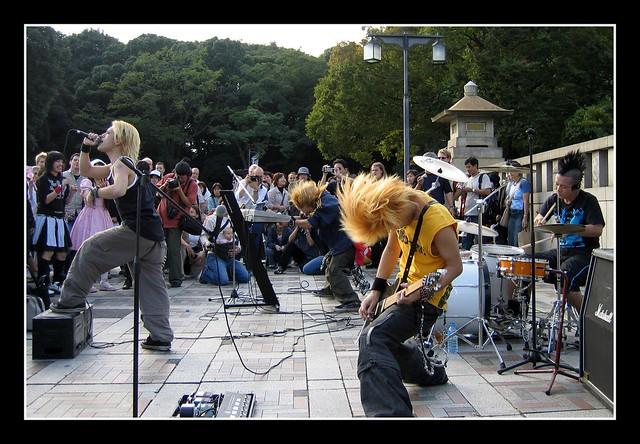 Harajuku Street band 1, Canon POWERSHOT S50
