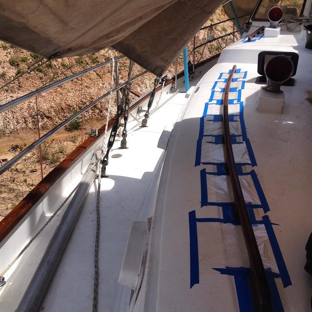 Ремонт яхты