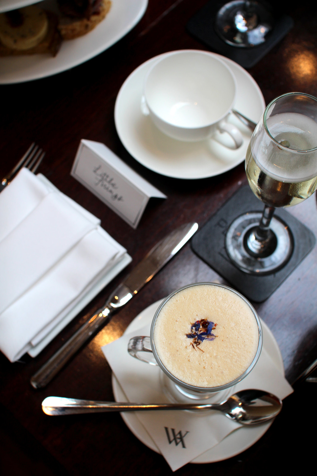 Waldorf Astoria Calton Hotel Peacock Room Afternoon Tea Summer 2017 Blogger Lifestyle Review Edinburgh UK