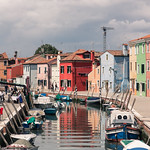 Fishing Boats and colorful houses
