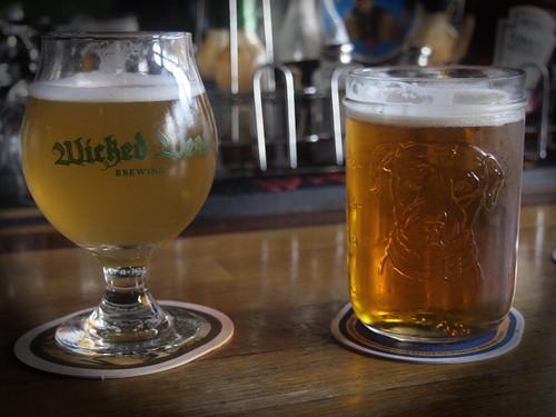 Drinking Budweiser & Heineken?