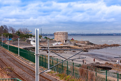 THE MARTELLO TOWER AT SEAPOINT [PHOTOGRAPHED IN MARCH 2008]-129511