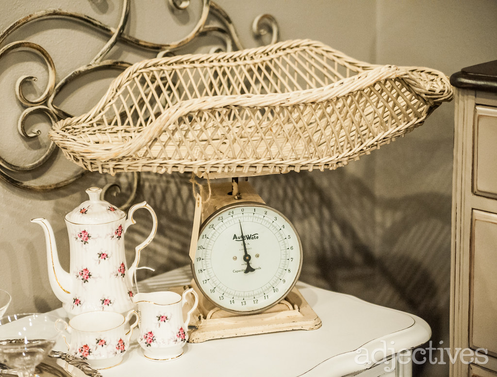 Hand Painted Buffets, Vintage Dressers, Retro Swings, and more!