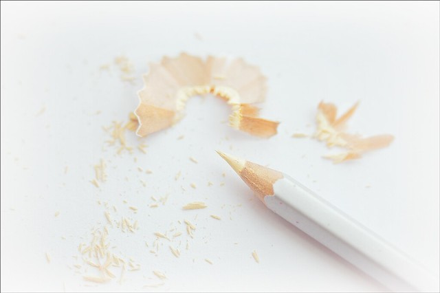Our Daily Challenge Cream / Creamy: The Colour Of The Pencil Is 'Cream'