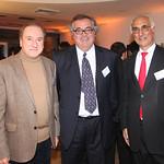 Jaime Bellolio, Universidad Católica; Carlos Vial, FrioSur;  Nicolás Majluf, Universidad Católica