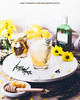 Honey, Preserved Lemon and Rosemary Gin Fizz