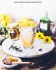 Honey, Preserved Lemon and Rosemary Gin Fizz
