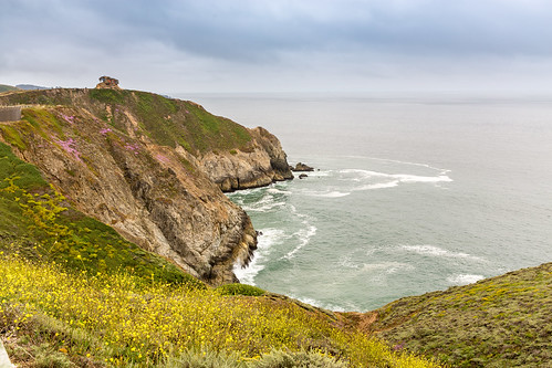 california northamerica sanfrancisco usa devils slide trail hiking biking path roadway highway 1 san mateo county pacifica foggy summer day pacific ocean waves cove cliffs fog 201706254b4a4653