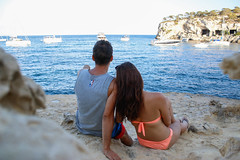 Couple in holiday