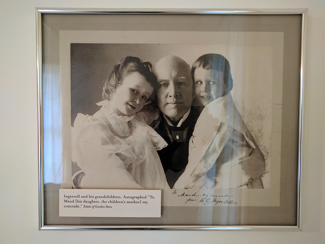 Robert Ingersoll w/ grandchildren