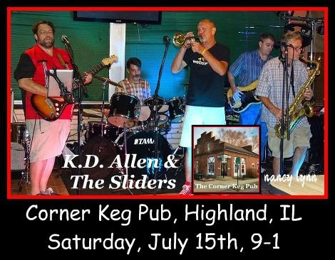 K.D. Allen & The Sliders 7-15-17
