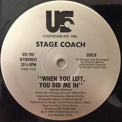 STAGE COACH:COME WITH ME(LABEL SIDE-B)
