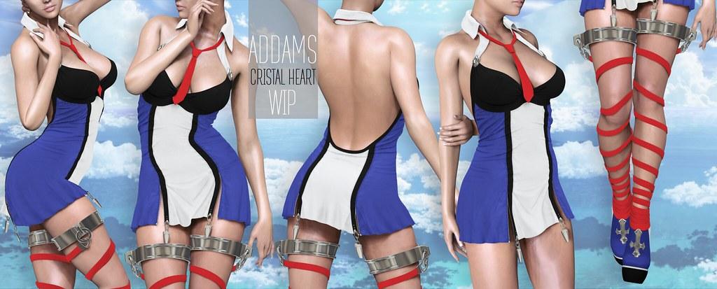 ADDAMS - The Cristal Heart - WIP - SecondLifeHub.com