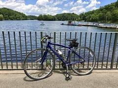 bikey at Lake Needwood