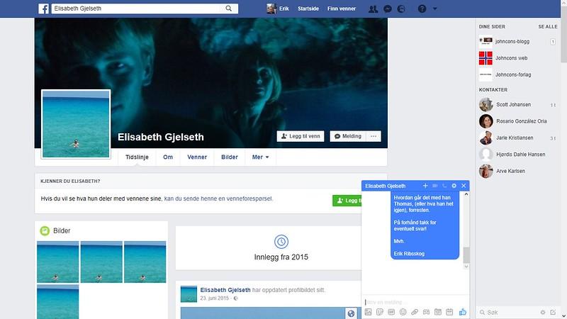facebook elisabeth gjelseth 1