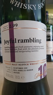 SMWS 2.99 - Joyful rambling