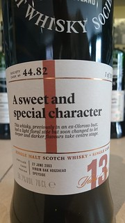 SMWS 44.82 - A sweet and special character