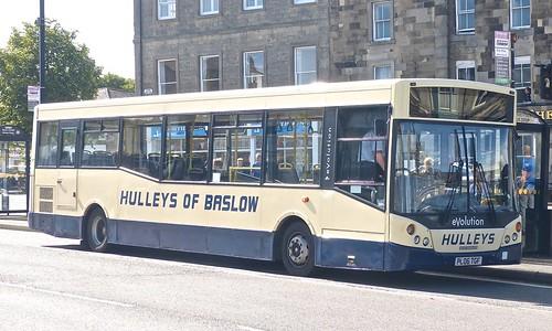 PL06 TGF 'Hulleys of Baslow' No. 18 Dennis Dart SLF / MCV eVolution on 'Dennis Basford's railsroadsrunways.blogspot.co.uk'