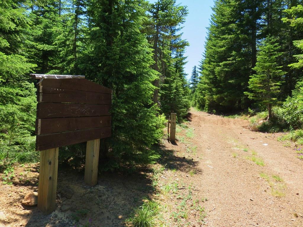 Rho Ridge Trailhead