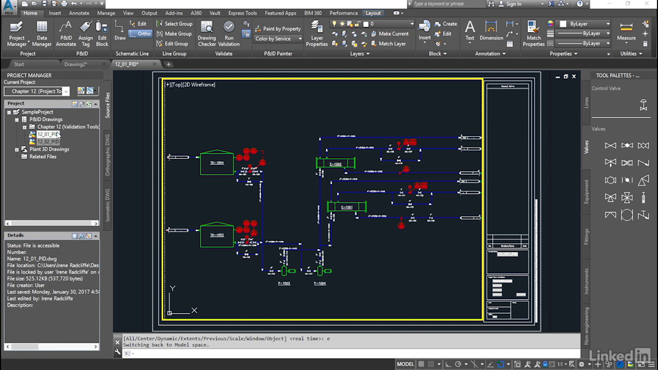 AutoCAD PID Essential video tutorials