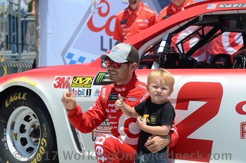 Kyle Larson & Owen Larson
